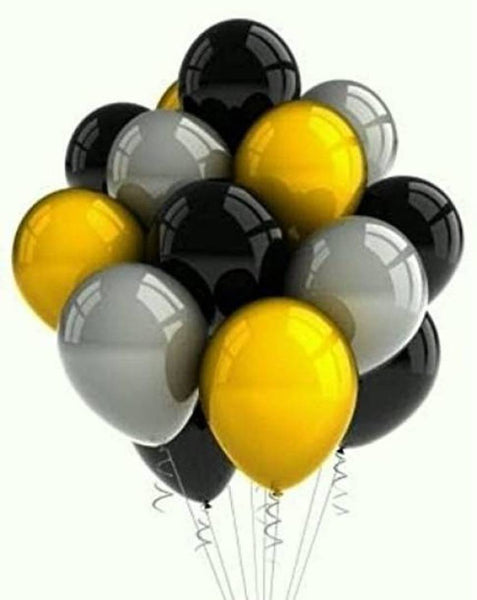50pcs Abel Metallic Balloons for Birthday Party, New year, Christmas, Valentine Decoration (Pack of 50)