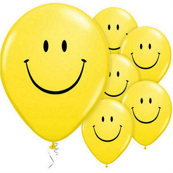 Smiley Balloons (Yellow)