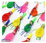 Whistles Horns Blowing  party Balloons (Pack of 50) - Abelestore
