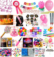 Abel Girl Prime  Birthday Decoration Kit (Pack of 25 items)