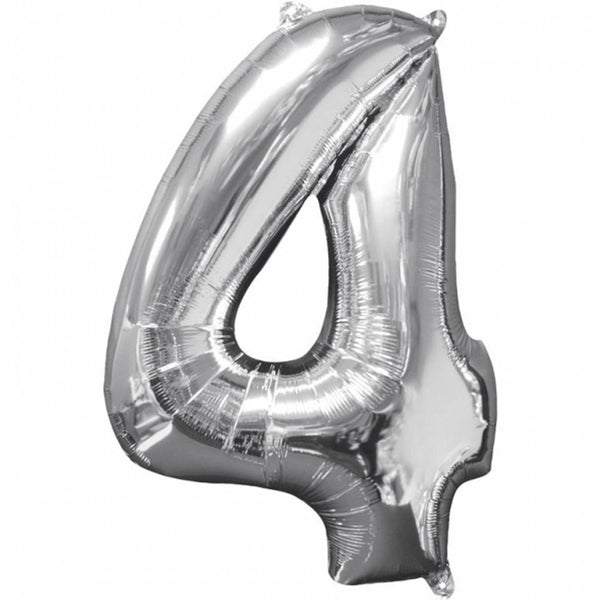 Special Foil Balloon (Number 4) (Pack of 1)