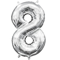 Special Foil Balloon (Number 8) (Pack of 1)
