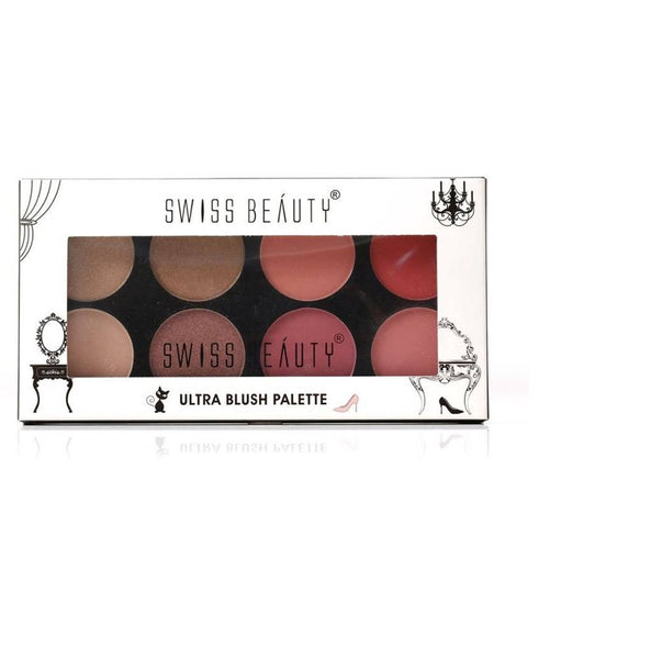 Swiss Beauty Ultra Blush Palette 16G, Sb-881 (01)