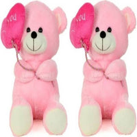 Gift Basket Stuffed Soft Toy Combo Of Balloon Teddy