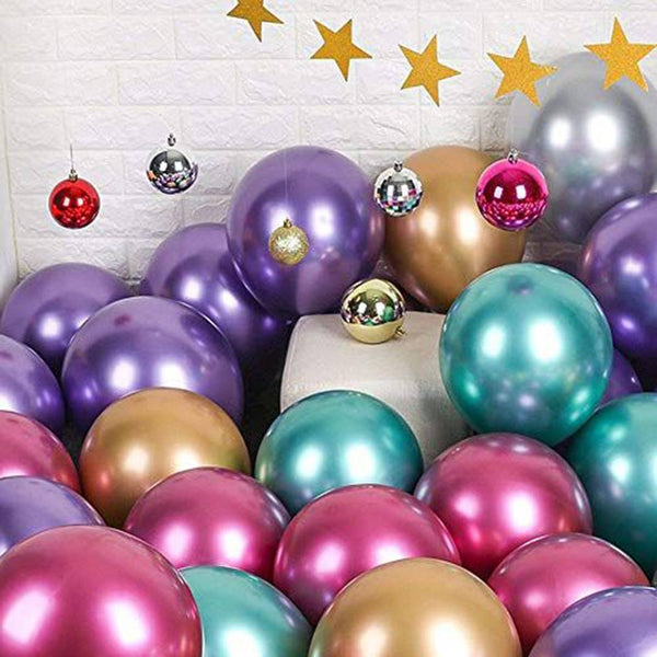 Premium Birthday Foil Balloons Set( Pack Of 50 )