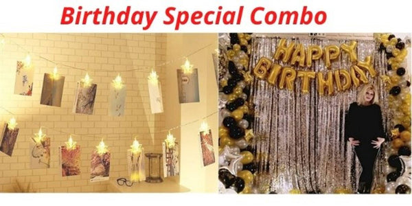 Abel ( Birthday Special) Ballon Letters & clip Light For Decoration - Abelestore