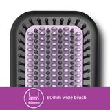 Philips BHH880/10 Heated Straightening Brush with Thermoprotect Technology (Black) 1 Yr warranty