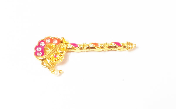 Flute For Laddu Gopal/Thakurji Shringar/Deity Ornaments
