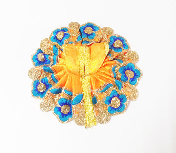Designer Flower Work Dress For God/Laddu Gopal Poshak/Dress