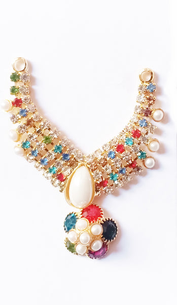 Neckless For Deity/Flower Design Haar/Laddu gopal Haar - Abelestore