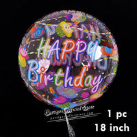 1 set Happy Birthday Letters balloons wedding birthday party banners helium globos Rose Gold foil balloons alphabets kids toy