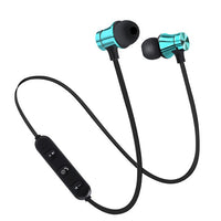 Magnetic Wireless Bluetooth Earphone Stereo Sports Waterproof Earbuds Wireless in-ear Headset with Mic For IPhone 7 Samsung - Abelestore