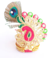 Morpankh Designer Safa For Thakurji Shringar/Pagadi For Laddu Gopal
