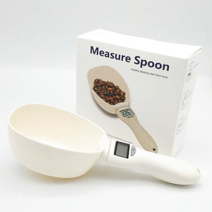 Pet Food Scooper with Measuring Scale - Dog Chews Store