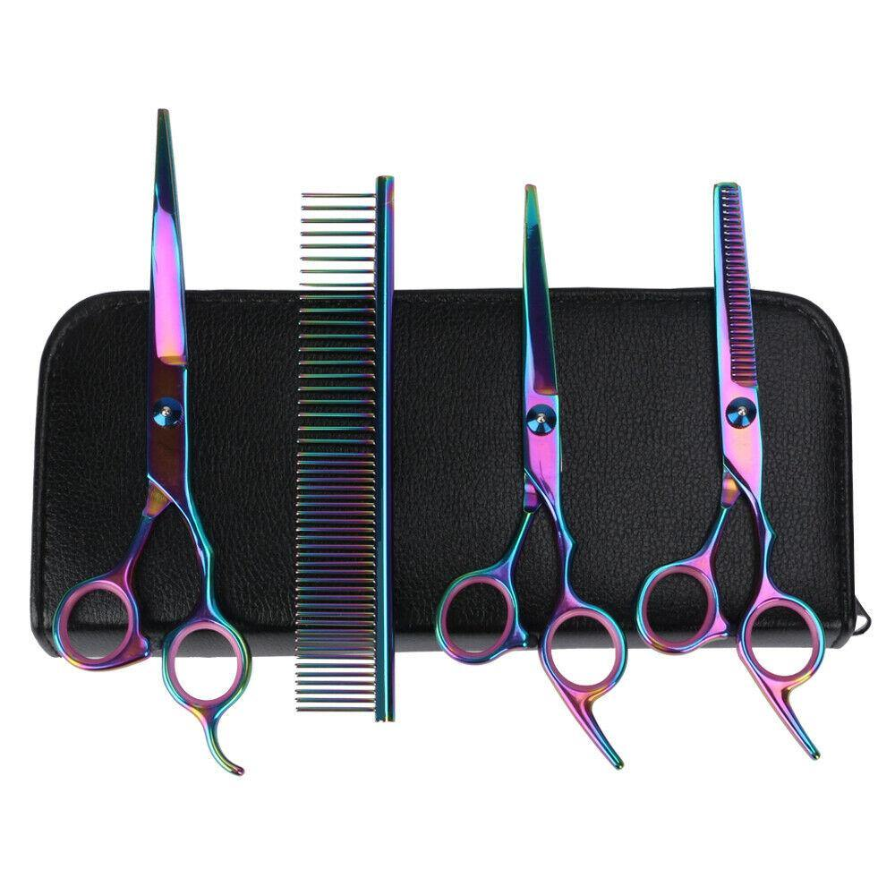 Dog Grooming Scissors Set (4pcs) - Dog Chews