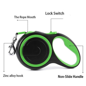 Retractable Dog Lead (3M/5M/8M) - Dog Chews