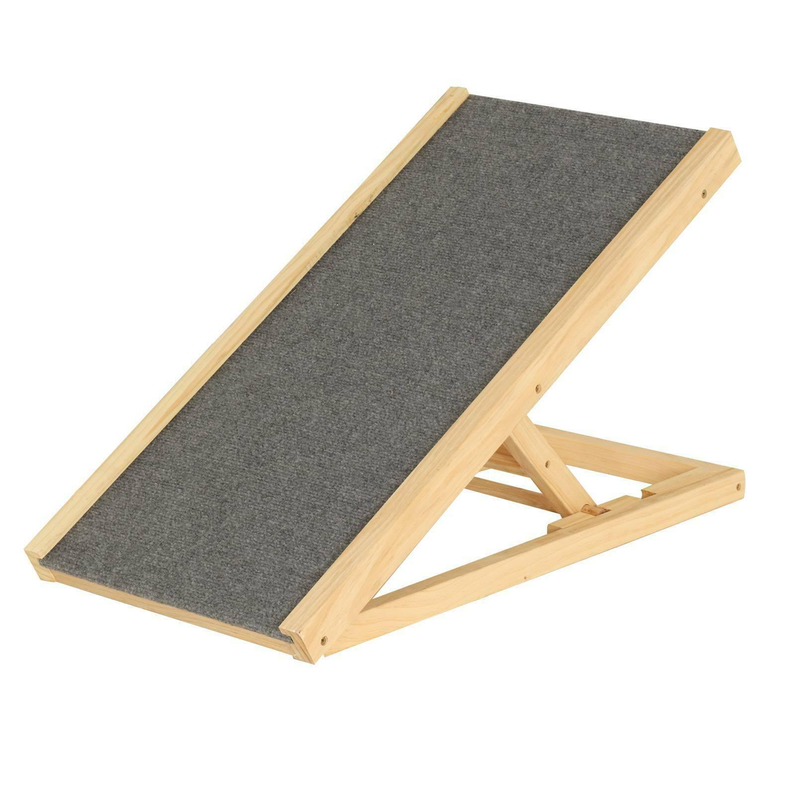 Safety First Foldable Wooden Pet Dog Ramp - Dog Chews