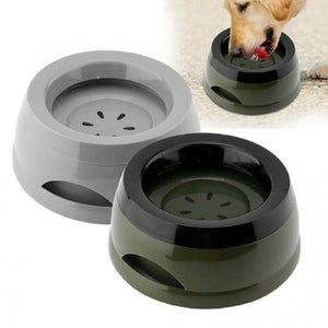 Spill Proof Travel Pet Water Bowl - Dog Chews