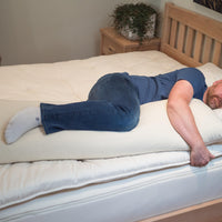 Organic eco wool body pillows for side sleepers thumbnail