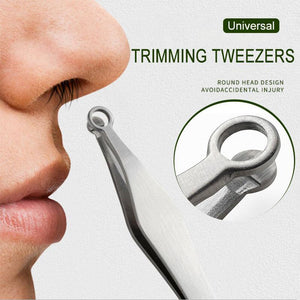 Universal Nose Hair Trimming Tweezers