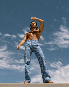 'All Over You' Bleached Denim Jeans - Patrick Church