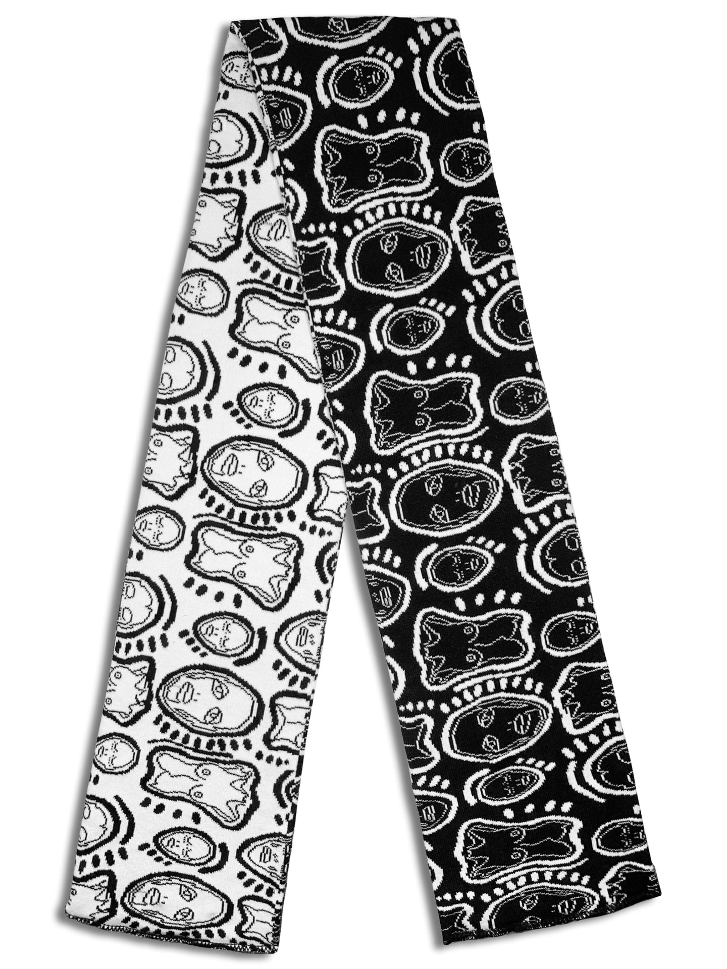 'All Over You' Reversible Knit Scarf - Patrick Church