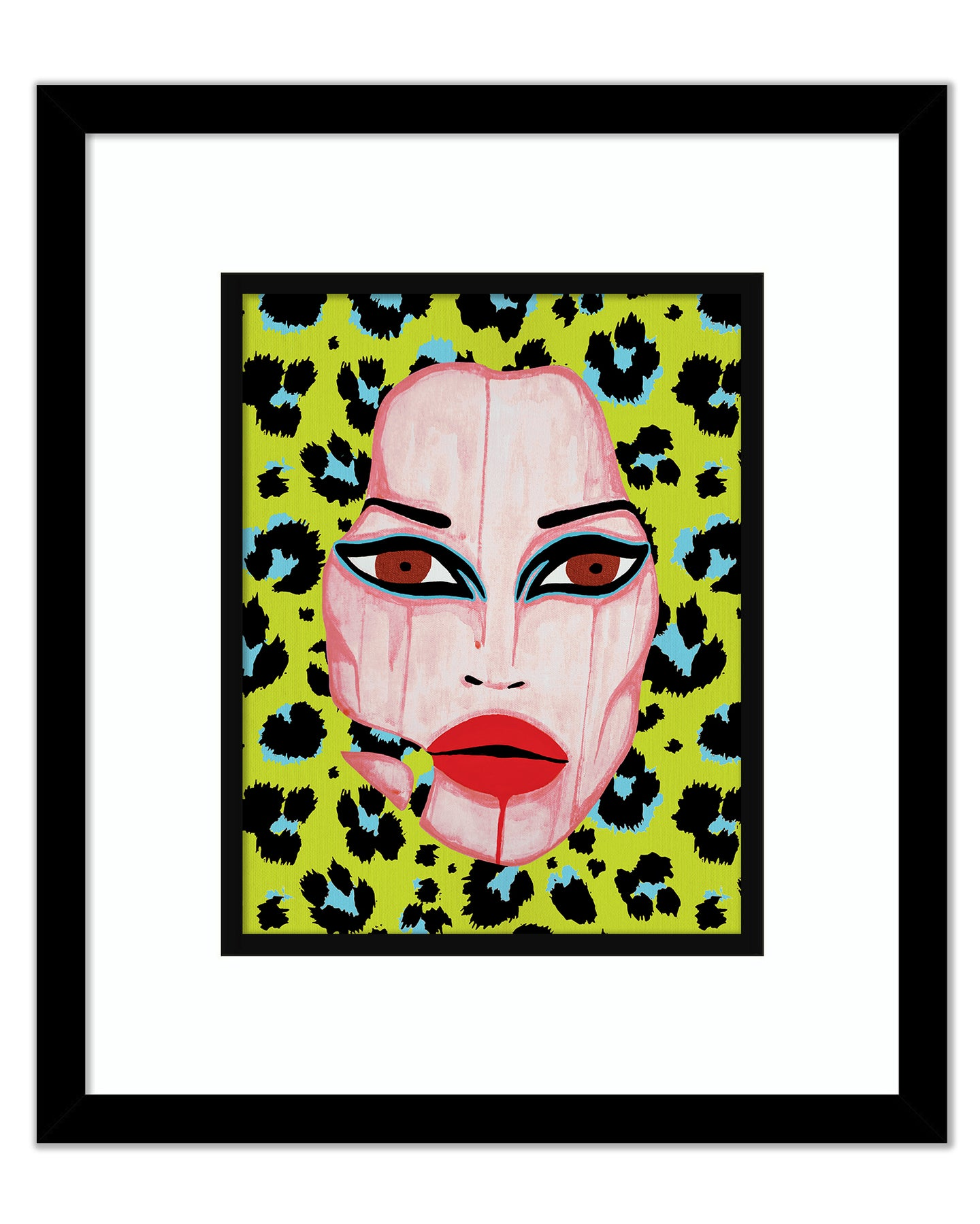 'Rita' Cheetah Art Print II - Patrick Church