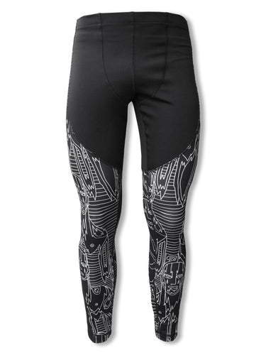 'Get In Line' Compression Pants - Patrick Church