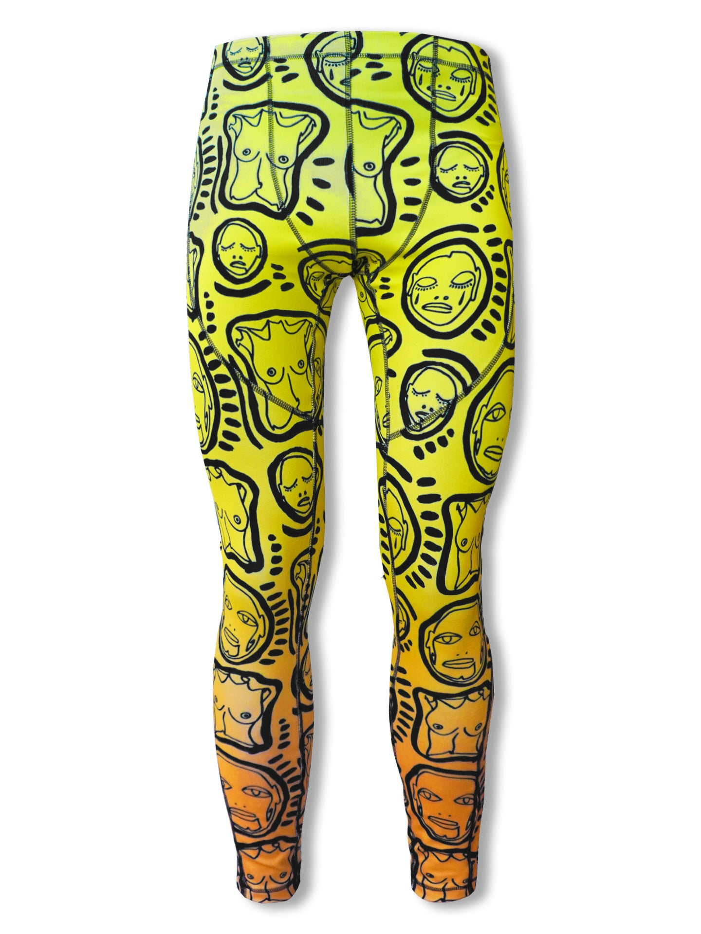 'All Over You' Hercules Compression Pants - Patrick Church