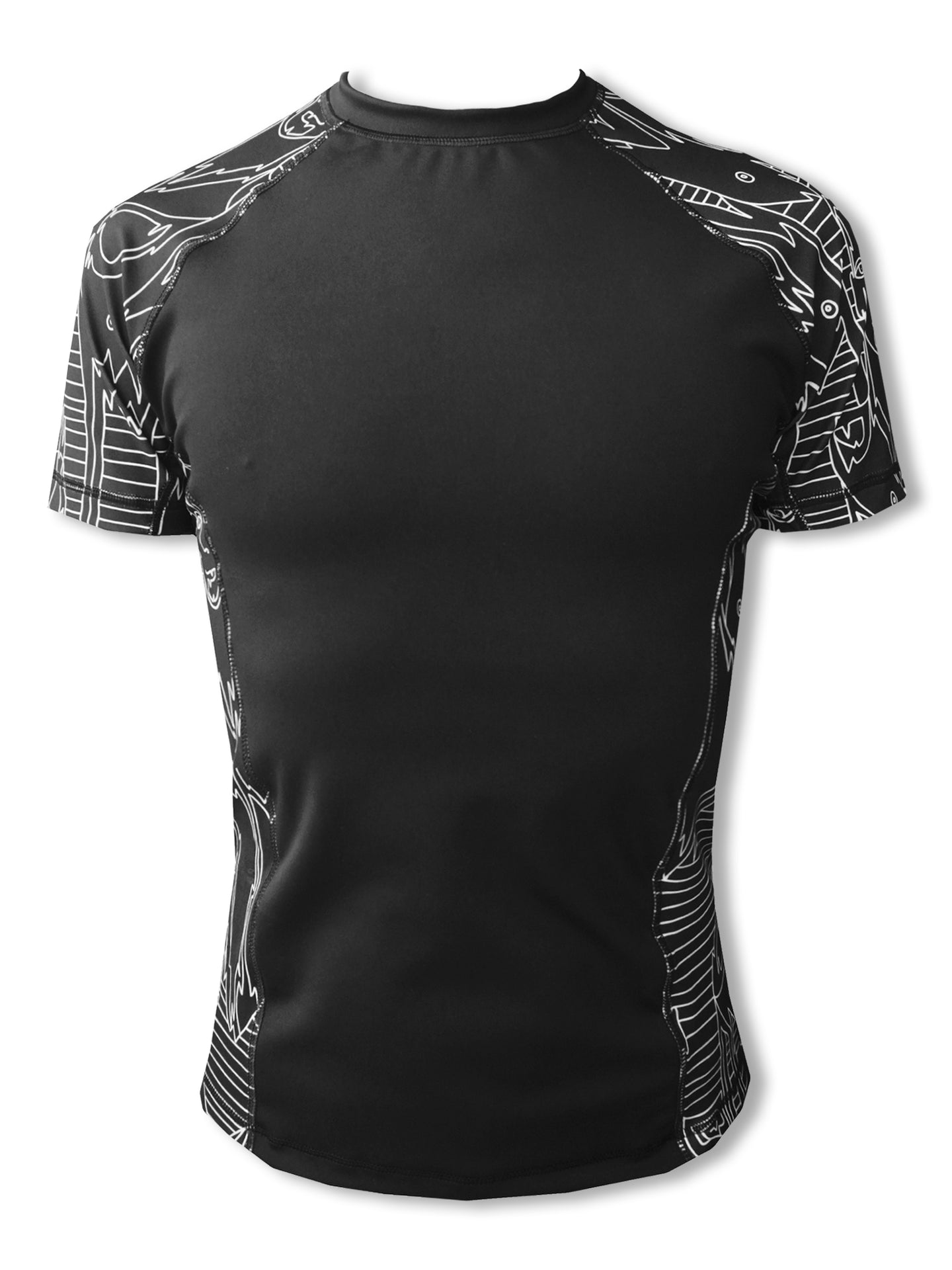 'Get In Line' Compression Top - Patrick Church