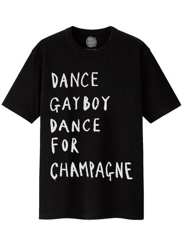 'Dance For Champagne' T-shirt - Patrick Church