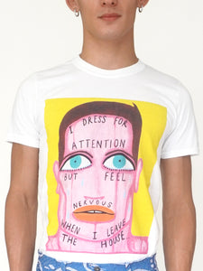 'Dress For Attention' T-shirt - Patrick Church