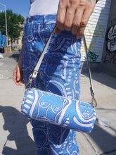 Load image into Gallery viewer, 'All Over You' Bleached Denim Purse - Patrick Church
