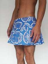Load image into Gallery viewer, 'All Over You' Bleached Denim Mini Skirt - Patrick Church