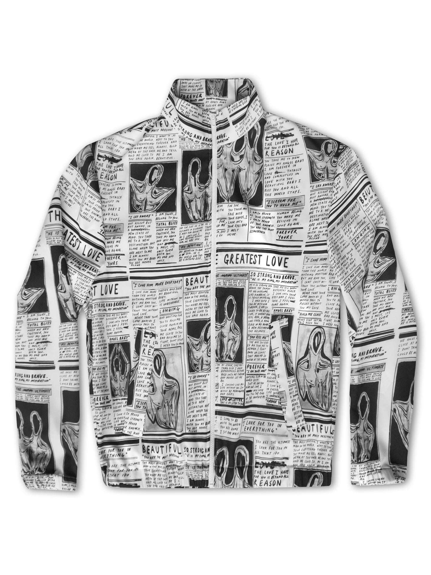 'Greatest Love' Diary Track Jacket - Patrick Church