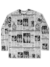 Load image into Gallery viewer, 'Greatest Love' Diary Long Sleeve T-Shirt - Patrick Church