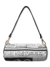 Load image into Gallery viewer, 'Greatest Love' Diary Denim Purse - Patrick Church