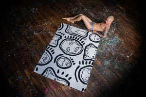 'ALL OVER YOU II' RUG: PATRICK CHURCH X HENZEL - Patrick Church
