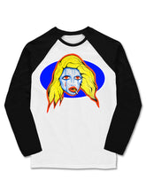 Load image into Gallery viewer, 'Venus' Baseball Long Sleeve T-shirt - Patrick Church