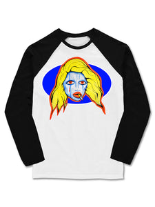 'Venus' Baseball Long Sleeve T-shirt - Patrick Church