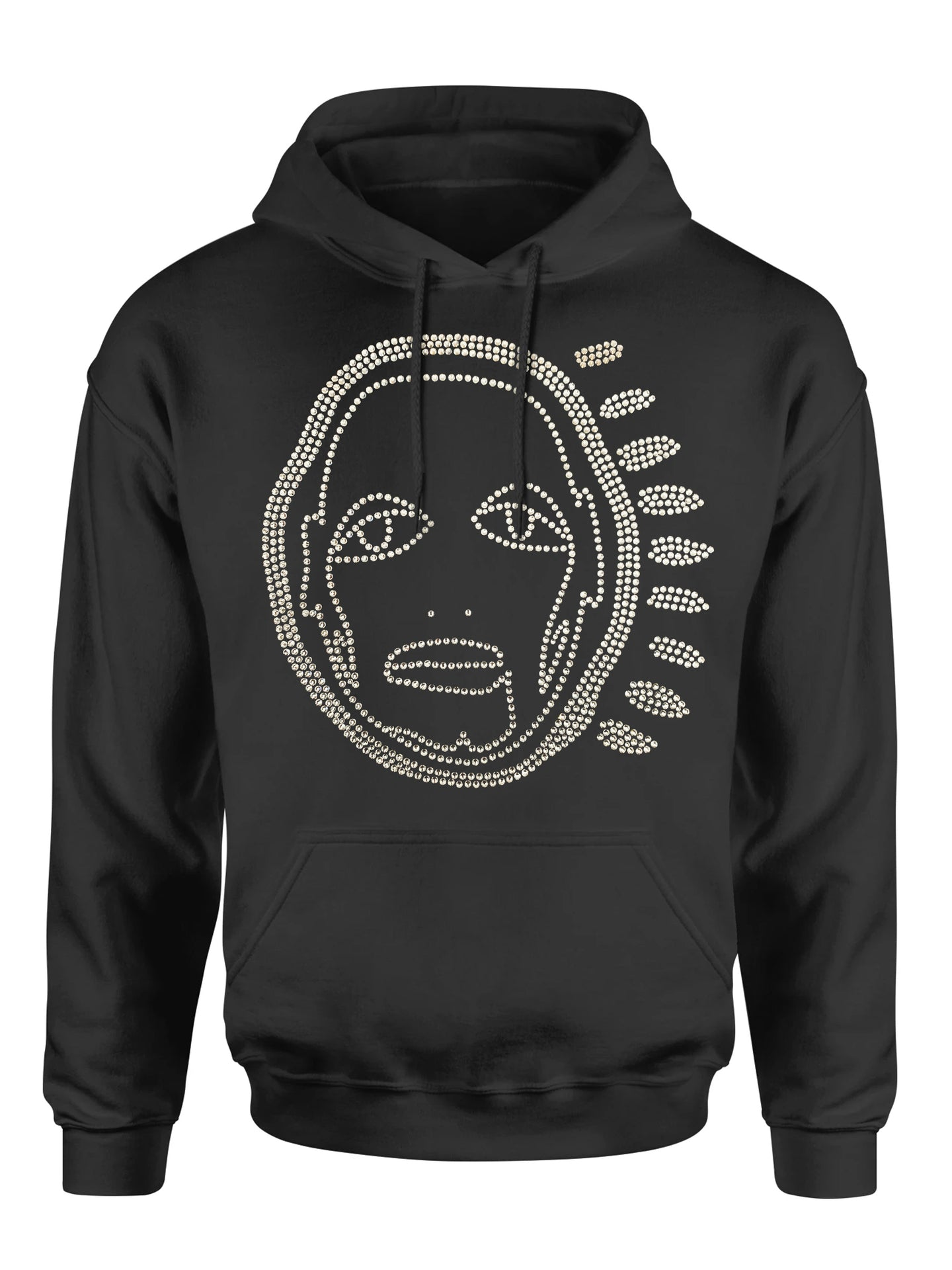 'ALL OVER YOU' CRYSTAL HOODIE - Patrick Church