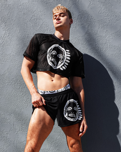 'All Over You' Mesh Cropped Tee - Patrick Church