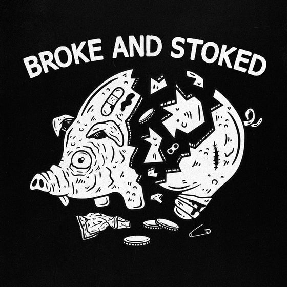T-shirt «Peggy bank» - Broke and stoked
