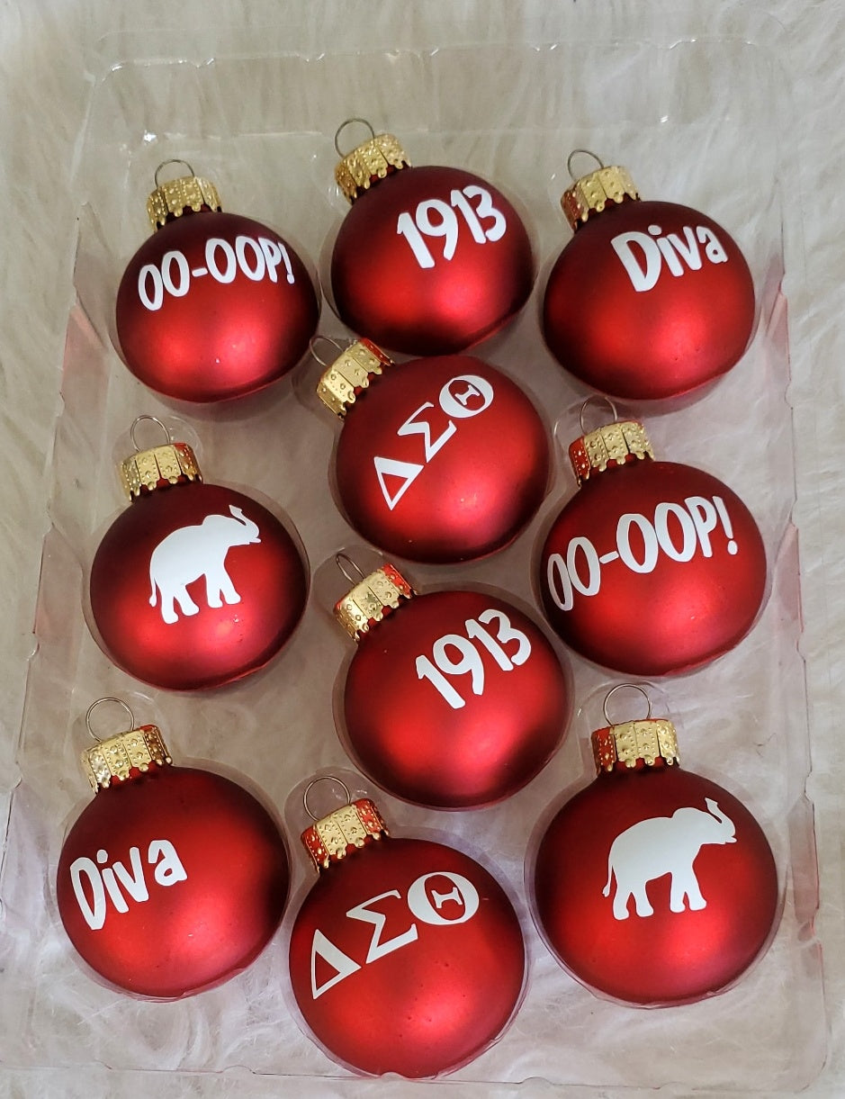 DST Ornaments
