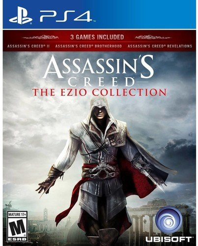 Assassin's Creed Ezio on PS4 Video Game Brand New - Overflow Video Games