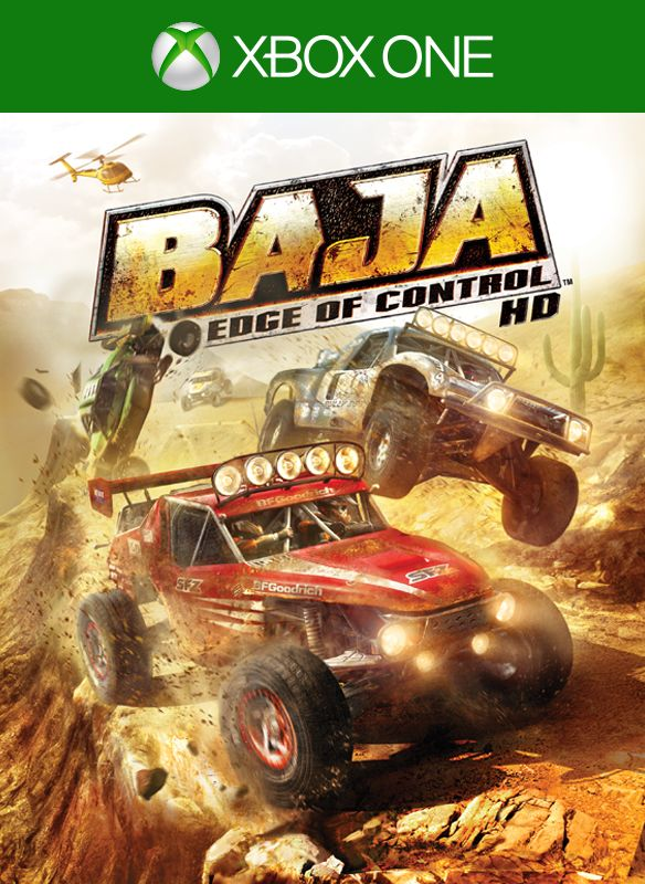 Baja: Edge of Control Xbox One Video Game Brand New - Overflow Video Games