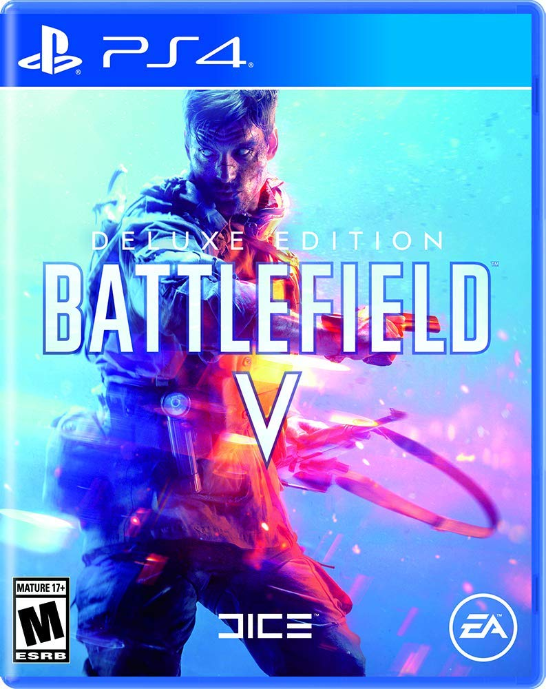 EA Battlefield V Deluxe Edition on PS4 Video Game Brand New - Overflow Video Games