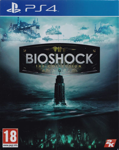 Bioshock The Collection on PS4 Video Game Brand New - Overflow Video Games
