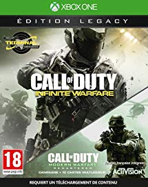 Call of Duty Infinite Warfare Legacy Edition Xbox One Video Game Brand New - Overflow Video Games
