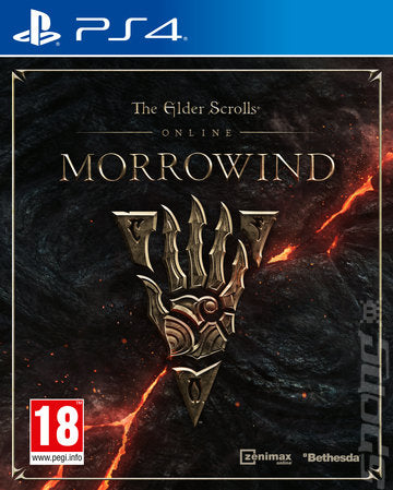 Elder Scrolls Online Morrowind on PS4 Video Game Brand New - Overflow Video Games